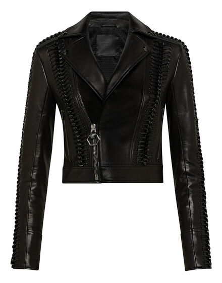 Leather Biker Elegant