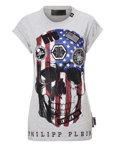 T-shirt Round Neck SS Costa Blu