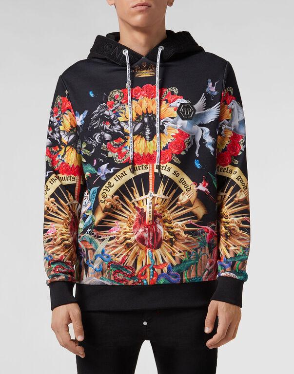 Hoodie sweatshirt Jungle