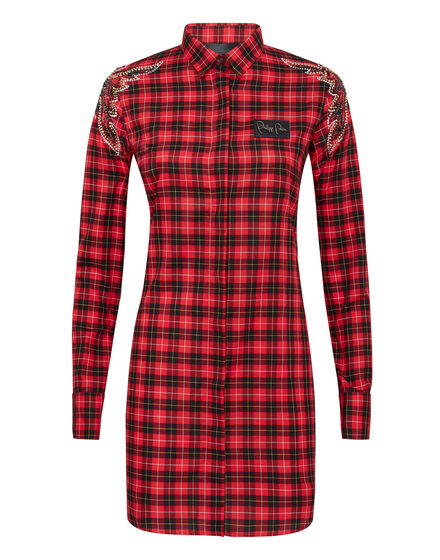 Shirt Dress Tartan