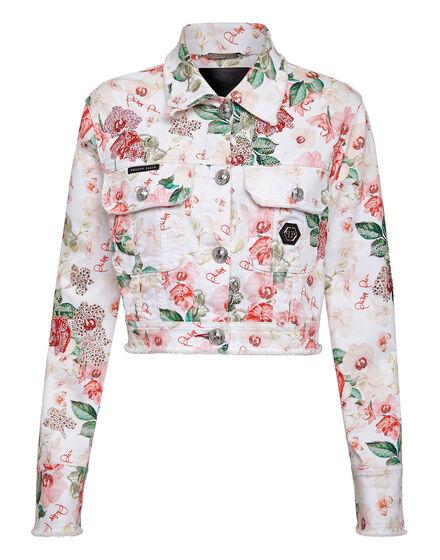 Denim Jacket Pink paradise