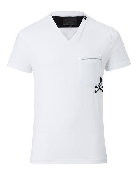 T-shirt V-Neck SS Dont You Worry