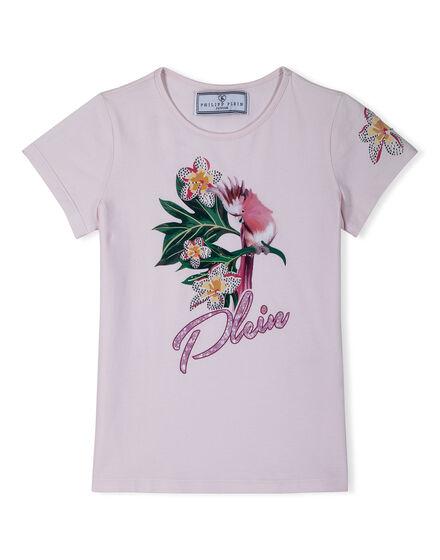 T-shirth Bouquet Parrot