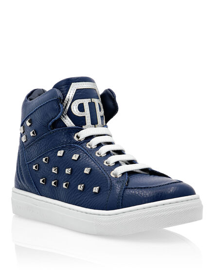 Hi-Top Sneakers Simon Studs