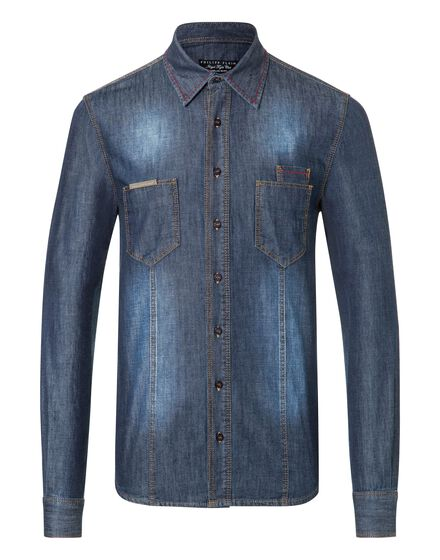 Denim Shirt Ls Crazy things