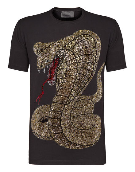 T-shirt Round Neck SS Rich snake