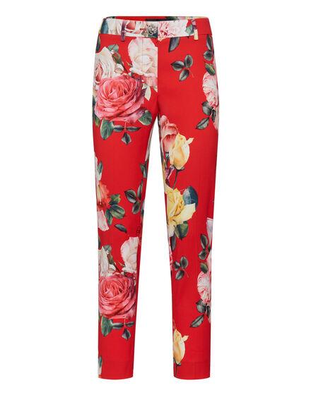 Long Trousers Regina Flowers