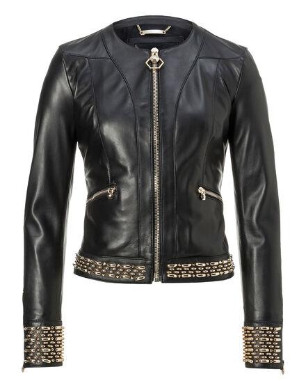 Leather Jacket Bleecker Street