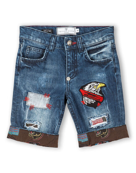 denim shorts terence