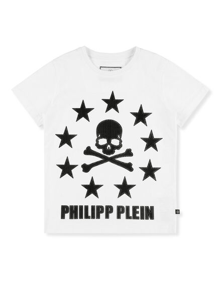 T-shirt Round Neck SS Stars and skull