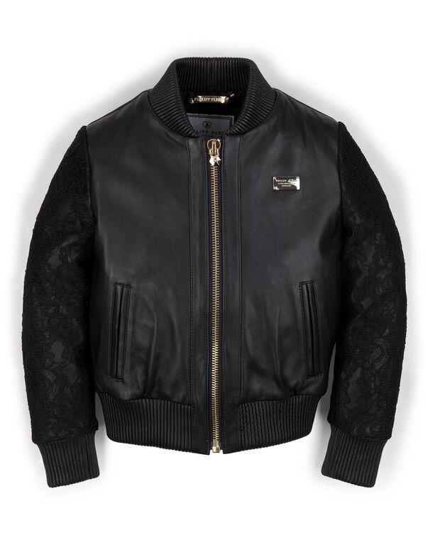 "leather jacket ""rapunzel"""