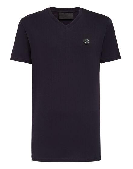 T-shirt V-Neck SS King Plein