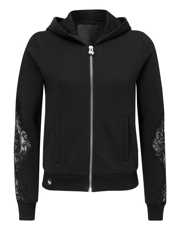 """hooded sweatjacket """"indeed"""""""