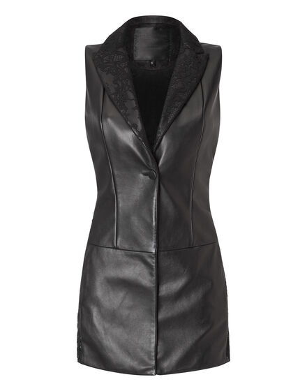 leather vest stay classy