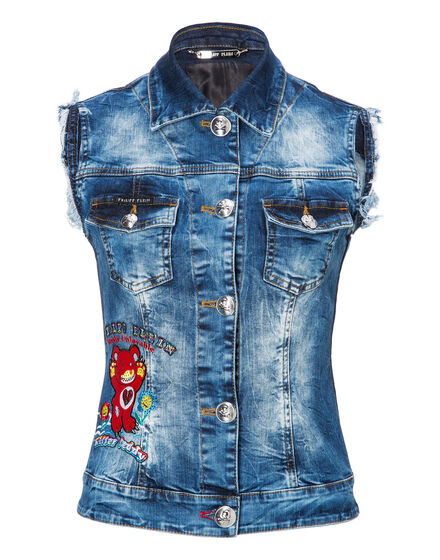 Denim vest Bricia