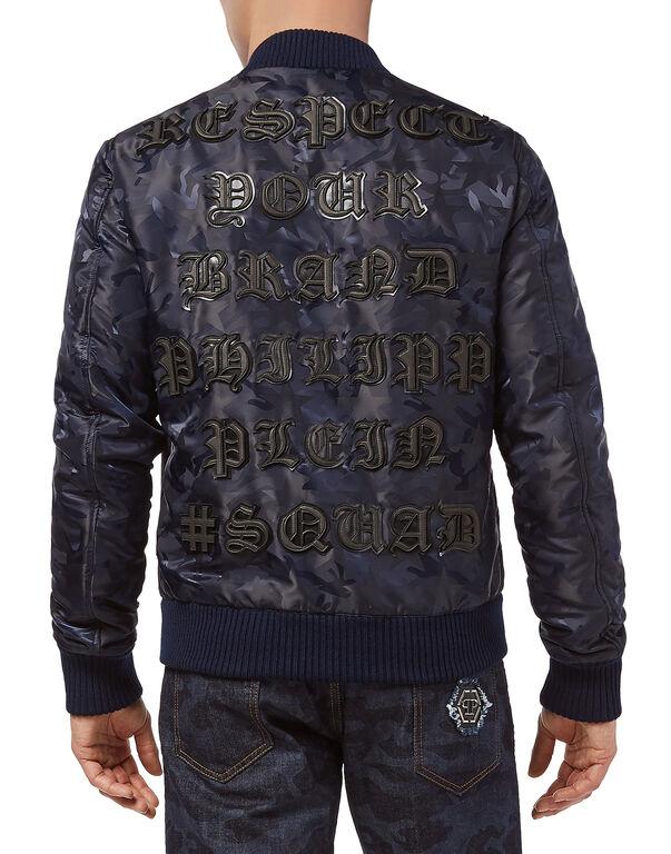 "Nylon Jacket ""Respect"""