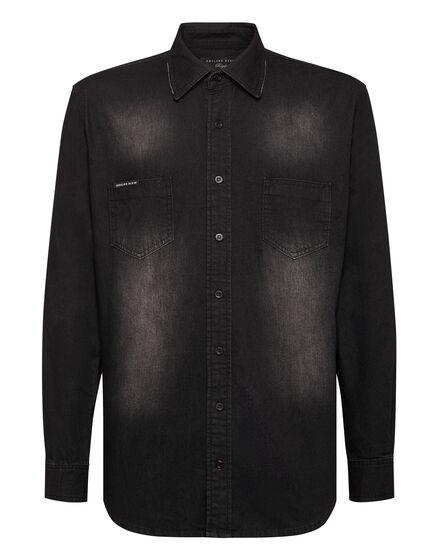 Denim Shirt Ls Istitutional