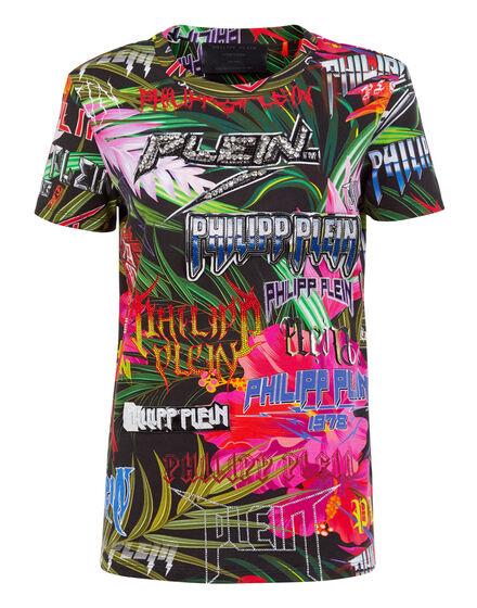 T-shirt Round Neck SS Jungle Rock