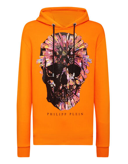 Hoodie sweatshirt Colorful Skull