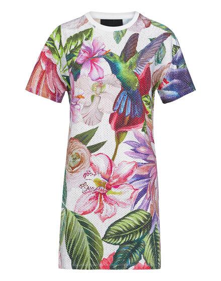 T-shirt Dresses Flowers