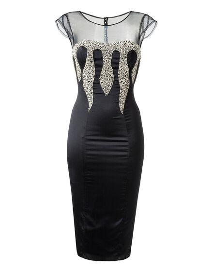 Short Dress Veronika Flame