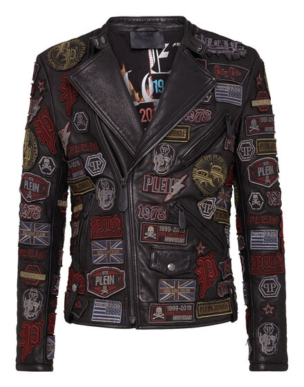 Leather Biker Patches