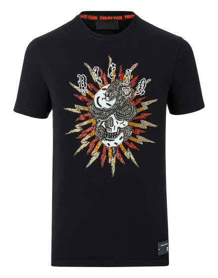 T-shirt Round Neck SS Skull bang