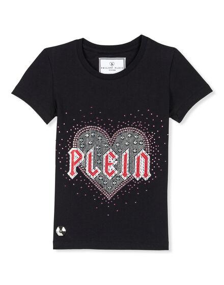 T-shirt Round Neck SS Plein heart
