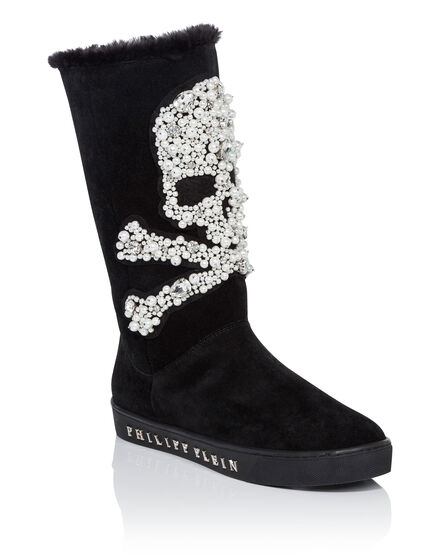 Boots Mid Flat martha