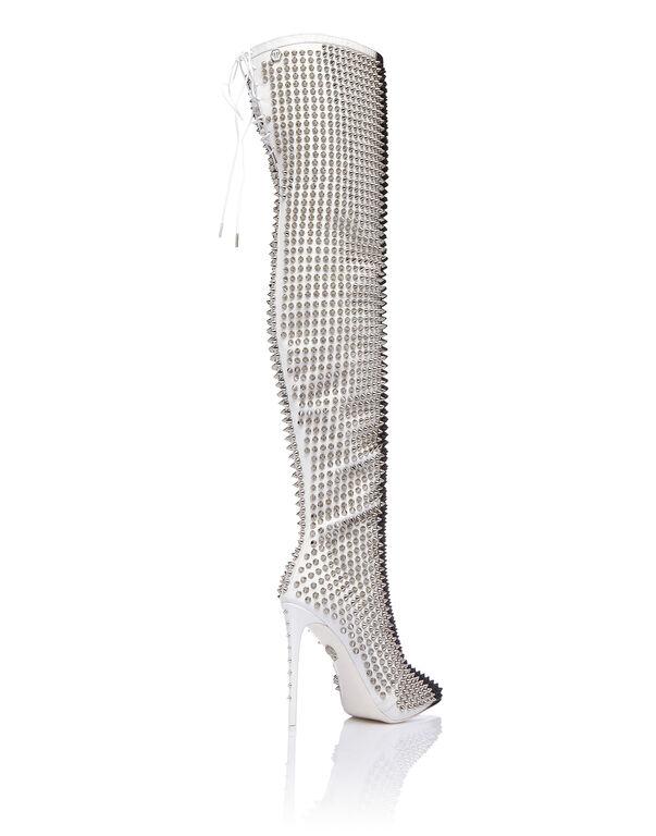 """Boots Hi-Heels Overknees """"Woman fashion show"""""""