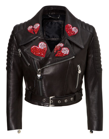 leather jacket for love