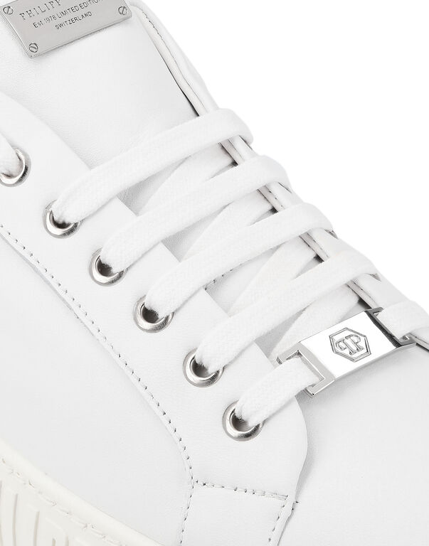 Lo-Top Sneakers Graphic Plein
