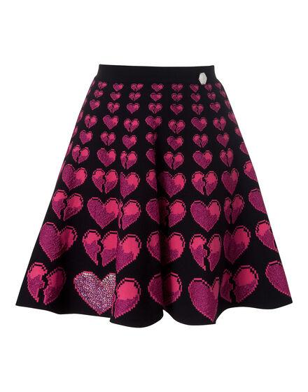 knit skirt combo