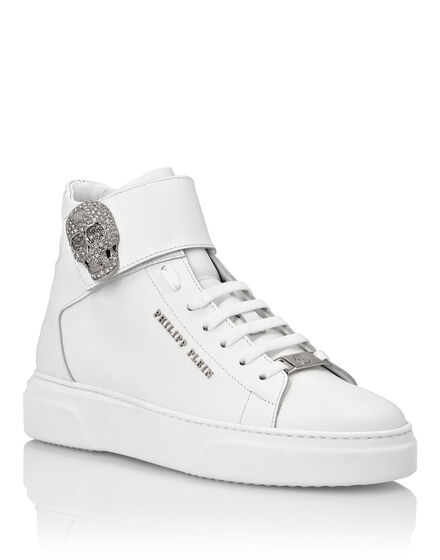 Hi-Top Sneakers Skull