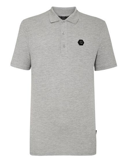 Polo shirt SS Allover skull