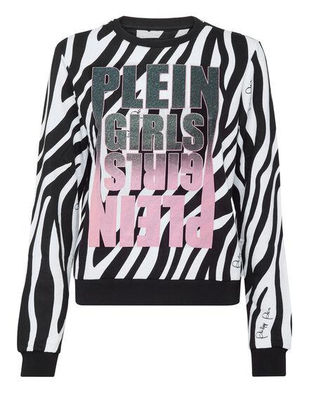 Sweatshirt LS Zebra