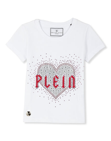T-shirt Round Neck SS Plein heart