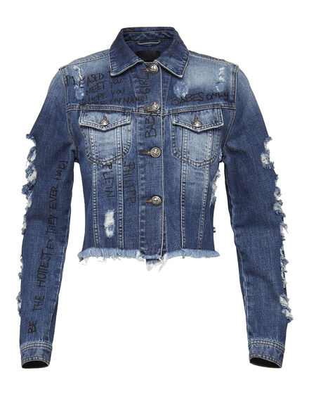 Denim Jacket Freesia