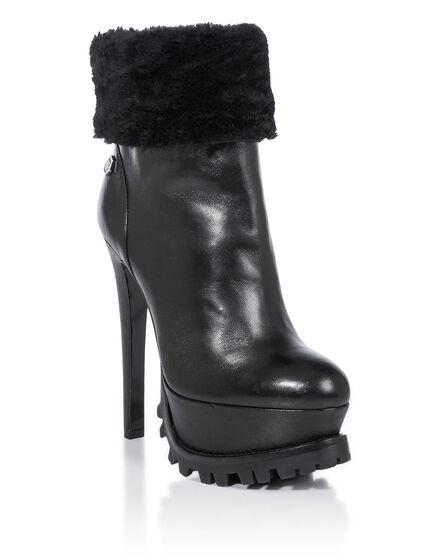 bootie high heels BARDOT
