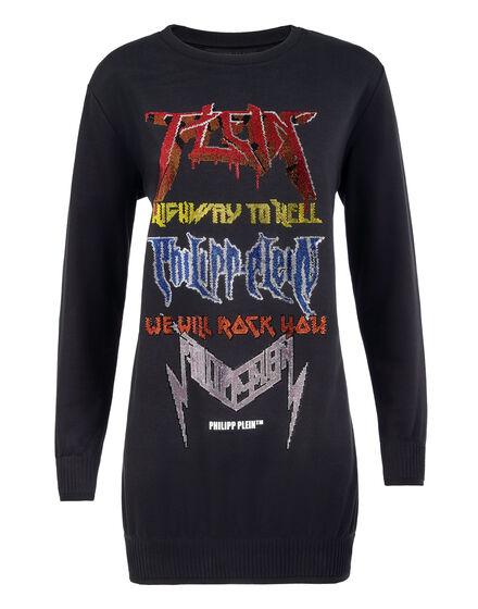Sweatshirt Dress Rock PP