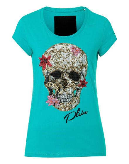 T-shirt Round Neck SS Flowery