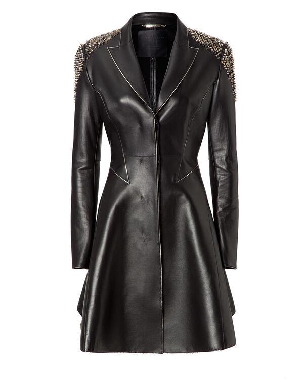 "leather coat ""sonar"""