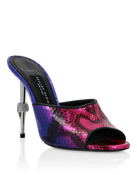 Python Sandals High Heels Luxury