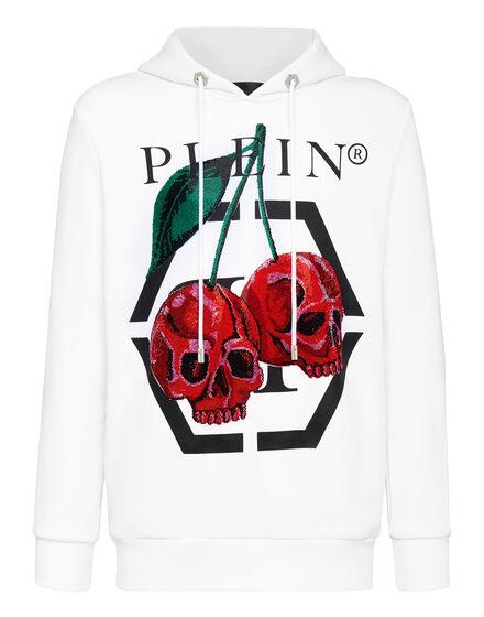Hoodie sweatshirt Cherries