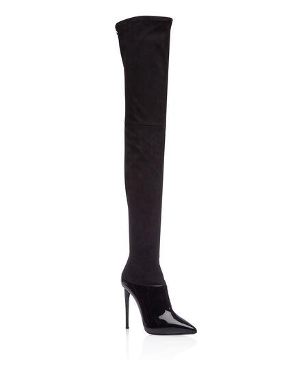 Boots Hi-Heels Overknees GRACE