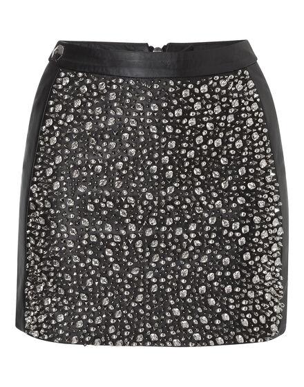 leather skirt diana