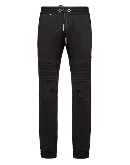 Jogging Trousers embroidered Gothic Plein