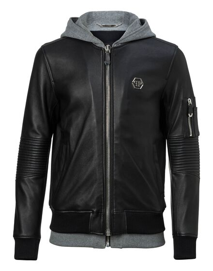 Leather Bomber Titouan