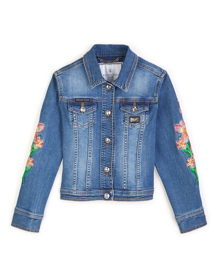 Denim jacket Uptown girl