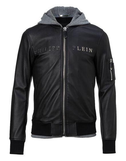 Leather Bomber Urban